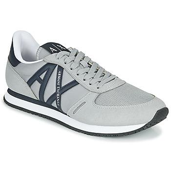 Skor Herr Sneakers Armani Exchange ESPACIA Grå