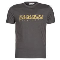 textil Herr T-shirts Napapijri SALLAR SS Grå / Mörk