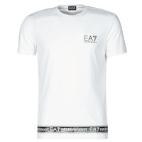 textil Herr T-shirts Emporio Armani EA7 3KPT05-PJ03Z-1100 Vit