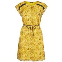 textil Dam Korta klänningar One Step RAYNA Gul