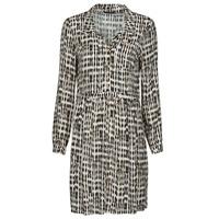 textil Dam Korta klänningar One Step RANDA Beige / Svart