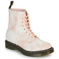 Skor Dam Boots Dr Martens 1460 PASCAL Beige