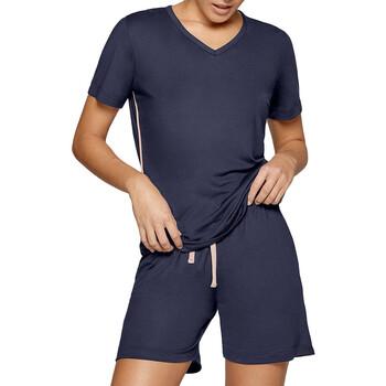 textil Dam Pyjamas/nattlinne Impetus Travel Woman 8400F84 F86 Blå