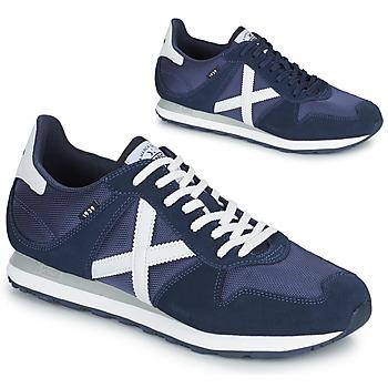 Skor Herr Sneakers Munich MASSANA 433 Blå