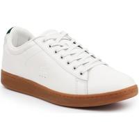 Skor Herr Sneakers Lacoste Carnaby Evo 5 SRM 7-30SRM4002098 beige