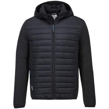 textil Täckjackor Portwest PW1121 Grå marl/svart