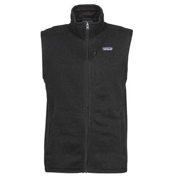 textil Herr Fleecetröja Patagonia M's Better Sweater Vest Svart