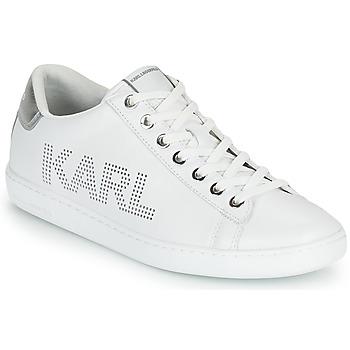 Skor Dam Sneakers Karl Lagerfeld KUPSOLE II KARL PUNKT LOGO LO Vit