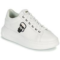 Skor Dam Sneakers Karl Lagerfeld KAPRI KARL IKONIC LO LACE Vit