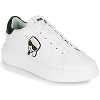 Skor Herr Sneakers Karl Lagerfeld KAPRI MENS KARL IKONIC 3D LACE Vit
