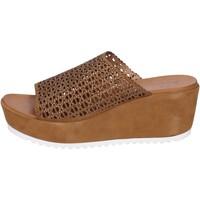 Skor Dam Sandaler Femme Plus BK620 Brun