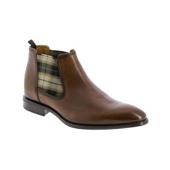 Skor Herr Boots André CABALLO Cognac