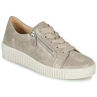 Skor Dam Sneakers Gabor 6333462 Beige / Guldfärgad