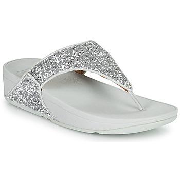 Skor Dam Flip-flops FitFlop LULU GLITTER Silver