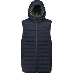 textil Herr Täckjackor Proact Doudoune sans manches à capuche bleu marine
