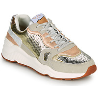 Skor Dam Sneakers Pepe jeans HARLOW GOLDEN Beige / Guldfärgad