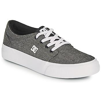 Skor Pojkar Skateskor DC Shoes TRASE B SHOE XSKS Grå