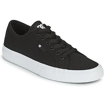 Skor Herr Skateskor DC Shoes MANUAL Svart / Vit