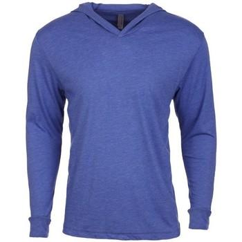 textil Sweatshirts Next Level NX6021 Vintage kunglig blå