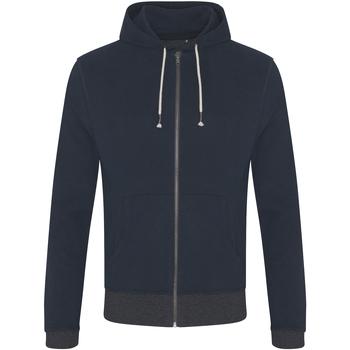 textil Herr Sweatshirts Ecologie EA051 Marinblått/grått