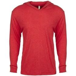 textil Sweatshirts Next Level NX6021 Vintage röd