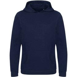 textil Herr Sweatshirts Ecologie EA040 Marinblått