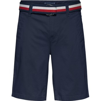 textil Pojkar Shorts / Bermudas Tommy Hilfiger SORTA Marin