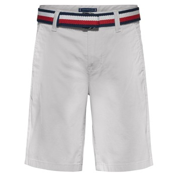 textil Pojkar Shorts / Bermudas Tommy Hilfiger FORTA Vit