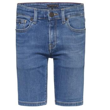 textil Pojkar Shorts / Bermudas Tommy Hilfiger KAHUI Blå