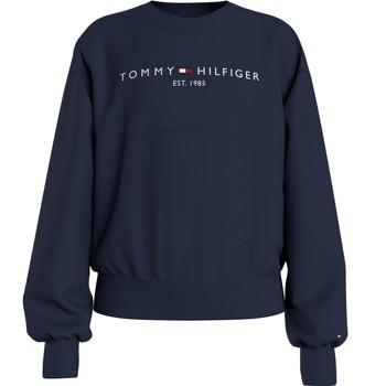 textil Flickor Sweatshirts Tommy Hilfiger KG0KG05764-C87 Marin