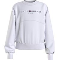 textil Flickor Sweatshirts Tommy Hilfiger THUBOR Vit