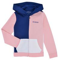 textil Flickor Sweatshirts Guess K1RQ00-KA6R0-F672 Vit / Rosa