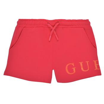 textil Flickor Shorts / Bermudas Guess K1GD08-KAN00-C448 Rosa