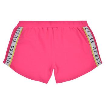 textil Flickor Shorts / Bermudas Guess J1GD12-KAE20-JLPK Rosa