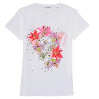 textil Flickor T-shirts Guess J1RI24-K6YW1-TWHT Vit