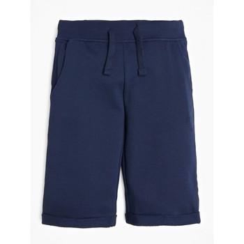 textil Pojkar Shorts / Bermudas Guess L93Q25-K5WK0-C765 Marin