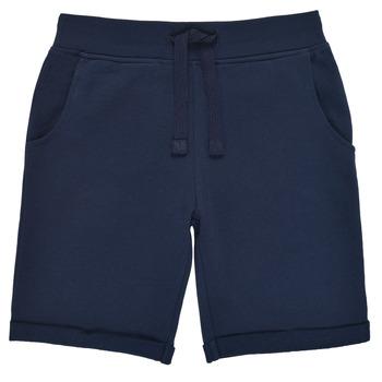 textil Pojkar Shorts / Bermudas Guess N93Q18-K5WK0-C765 Marin