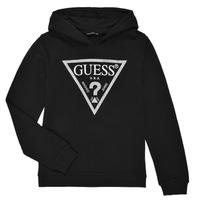 textil Flickor Sweatshirts Guess J83Q14-K5WK0-A996 Svart