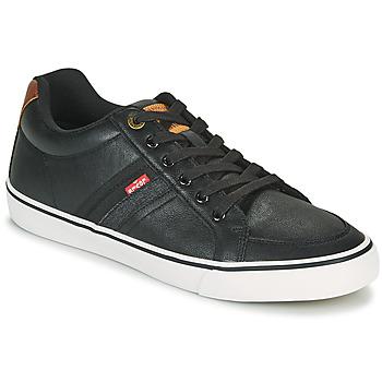 Skor Herr Sneakers Levi's TURNER Svart