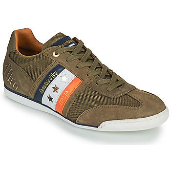 Skor Herr Sneakers Pantofola d'Oro IMOLA CANVAS UOMO LOW Kaki