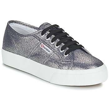 Skor Dam Sneakers Superga 2730 LAMEW Silver