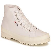 Skor Dam Höga sneakers Superga 2341 ALPINA COTU Vit