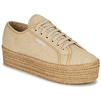 Skor Dam Sneakers Superga 2790 JUTECOTROPEW Beige