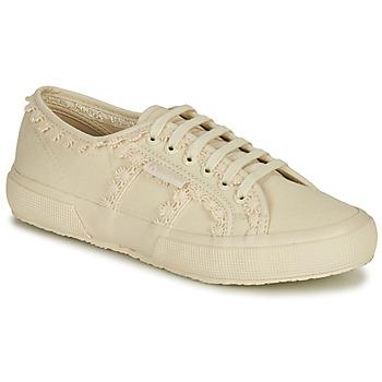 Skor Dam Sneakers Superga 2750 COTW LACEPIPING Beige