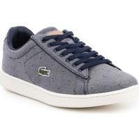 Skor Dam Sneakers Lacoste Carnaby Evo 218 3 SPW 7-35SPW0018B98 navy , white