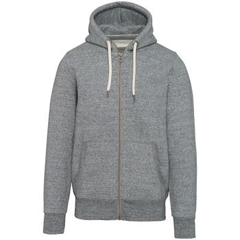 textil Sweatshirts Kariban Vintage KV2306 Slub Grey Heather