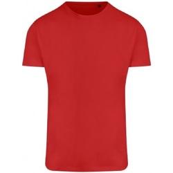 textil Herr T-shirts Ecologie EA004 Eldröd