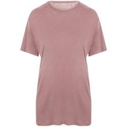 textil Herr T-shirts Ecologie EA002 Dammig rosa