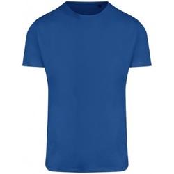 textil Herr T-shirts Ecologie EA004 Kunglig blå