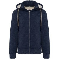textil Herr Sweatshirts Kariban Vintage K2312 Nattblått Heather